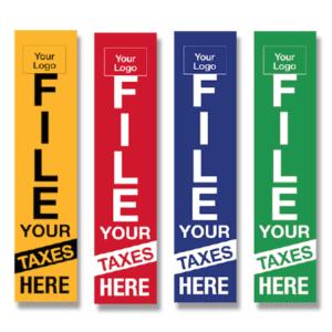 tax flag template 04