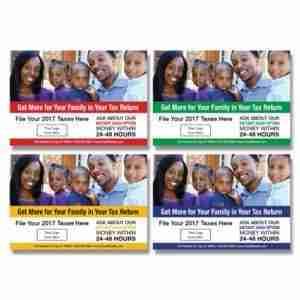 tax postcard template 01