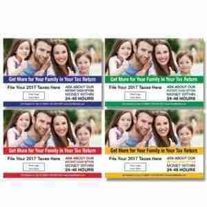 tax postcard template 02