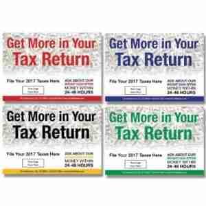 tax postcard template 03