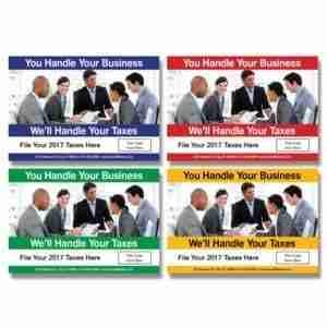 tax postcard template 05