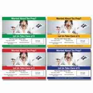 tax postcard template 06