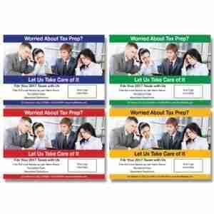 tax postcard template 07
