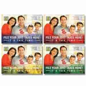tax postcard template 09