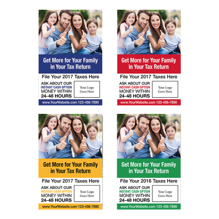 tax poster template 02