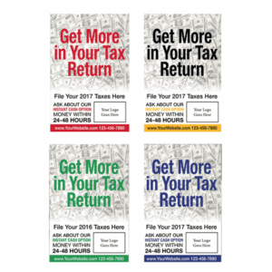 tax poster template 03