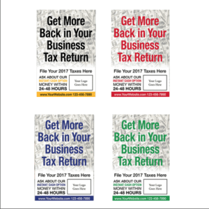 tax poster template 04