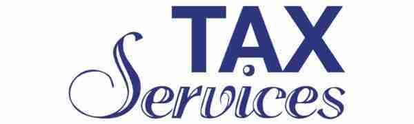 tax banner template 06 blue