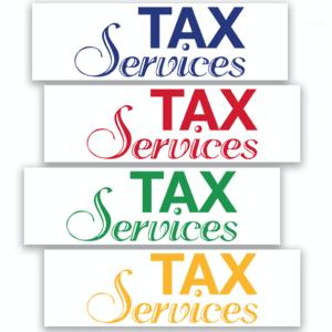 tax banner template 06