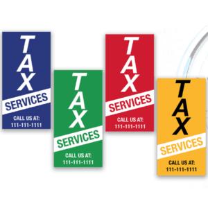 tax banner template 09