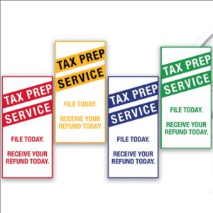 tax banner template 13